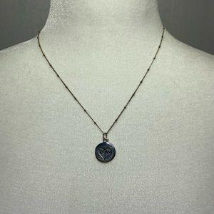 Argento Vivo Sterling Silver Love Necklace